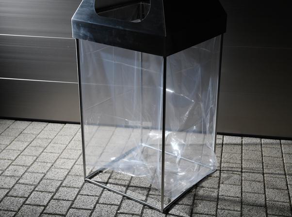 テロ対策用ゴミ箱